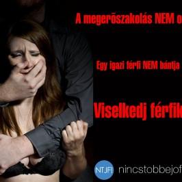 A megerőszakolás a … hibája