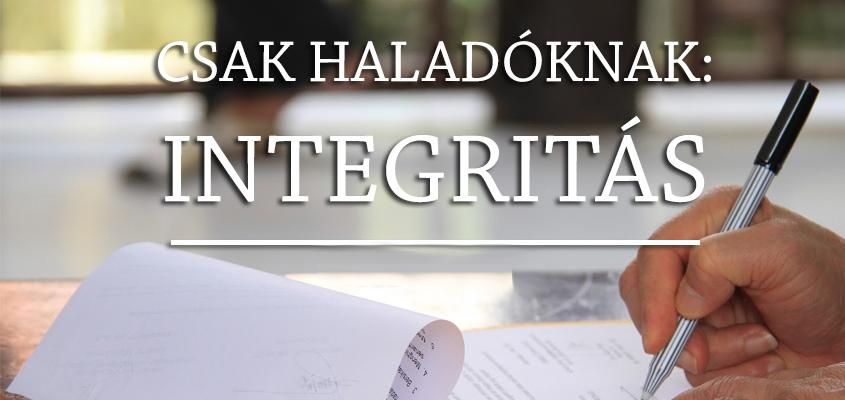 Csak haladóknak: integritás