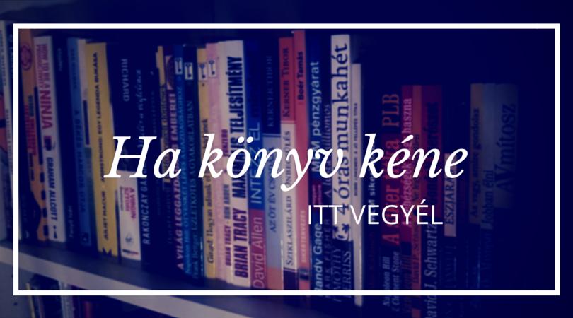 Itt veheted meg a könyveket, ha érdekel: