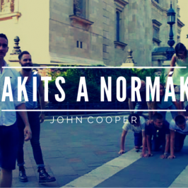 John Cooper – Szakíts a társadalmi normákkal