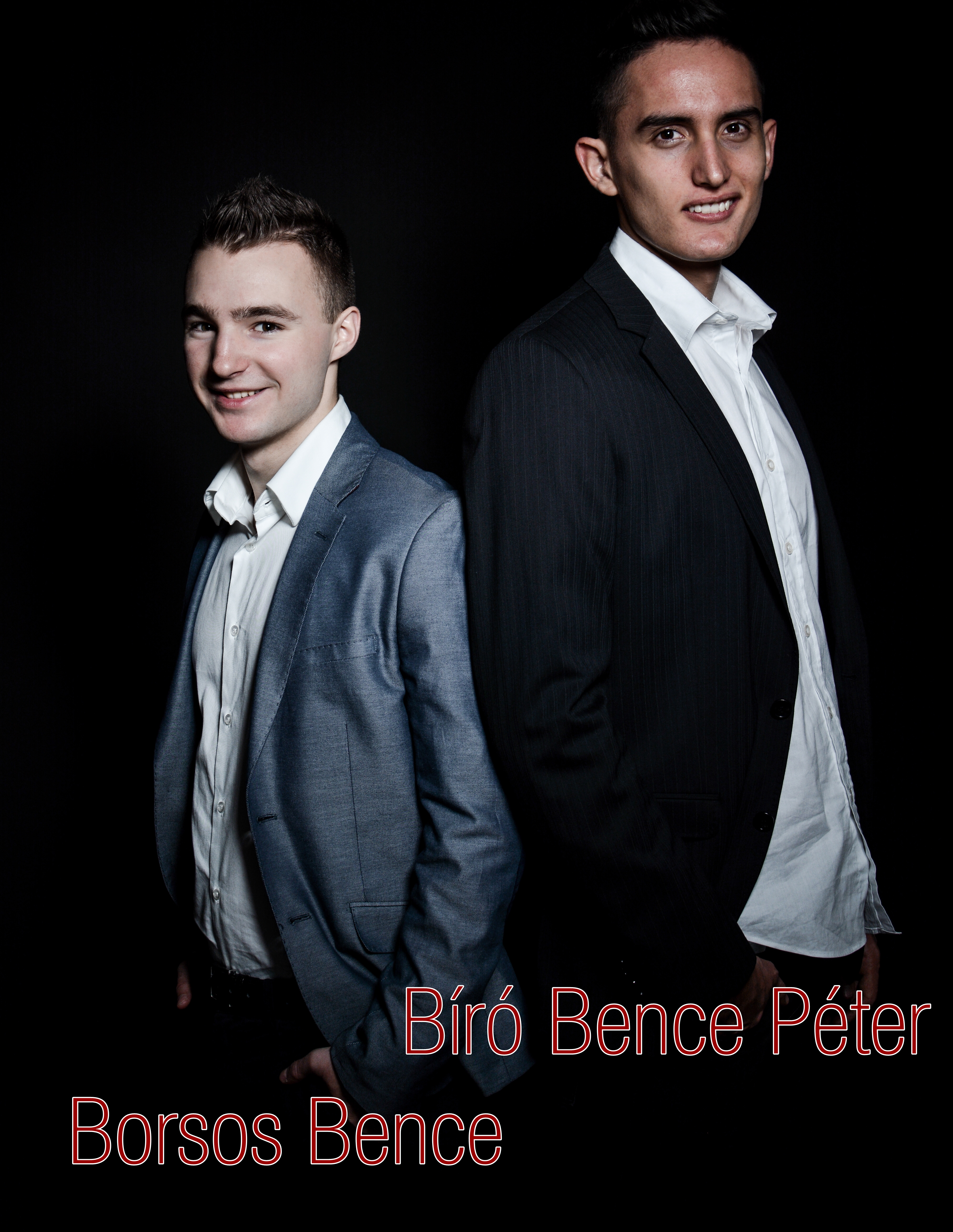 Borsos Bence és Bíró Bence Péter